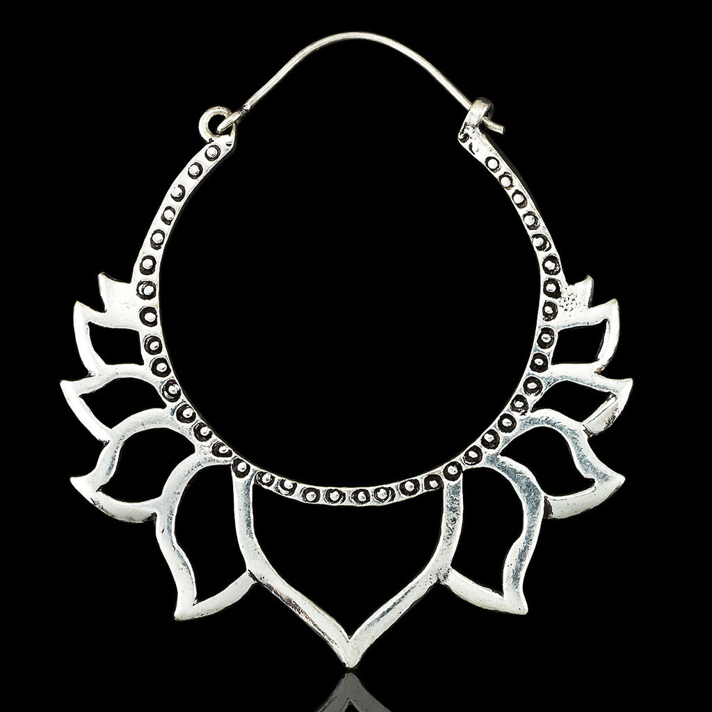 <span>ASE-311<span>: </span></span>Silver Lotus Hoops