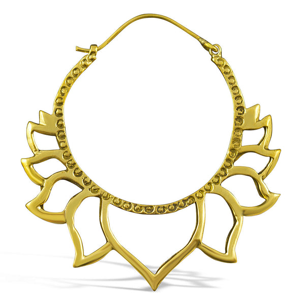 <span>BRE-311<span>: </span></span>Golden Lotus Hoops