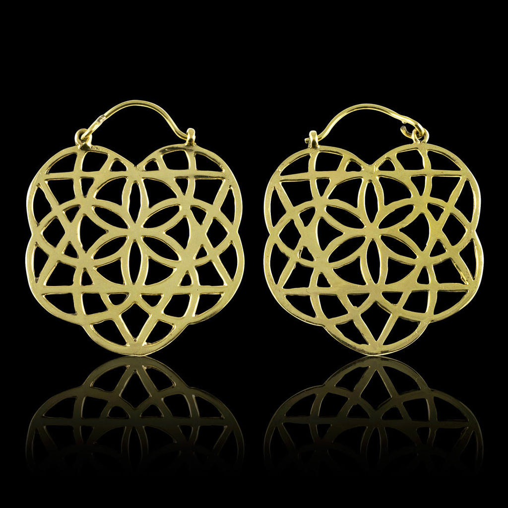 <span>BRE-315<span>: </span></span>Flower of Life Hoops