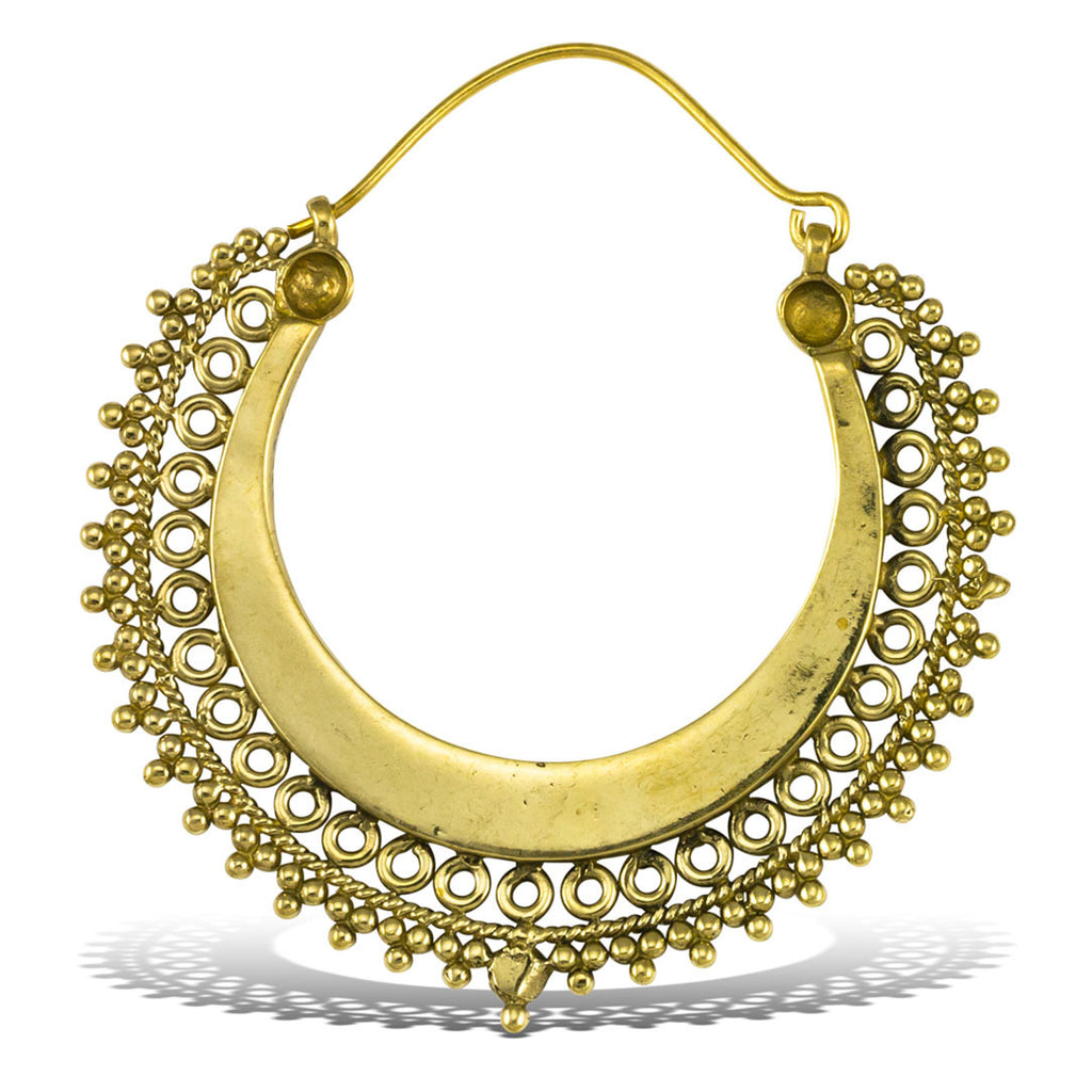 <span>BRE-360<span>: </span></span>Shining Brass Hoops