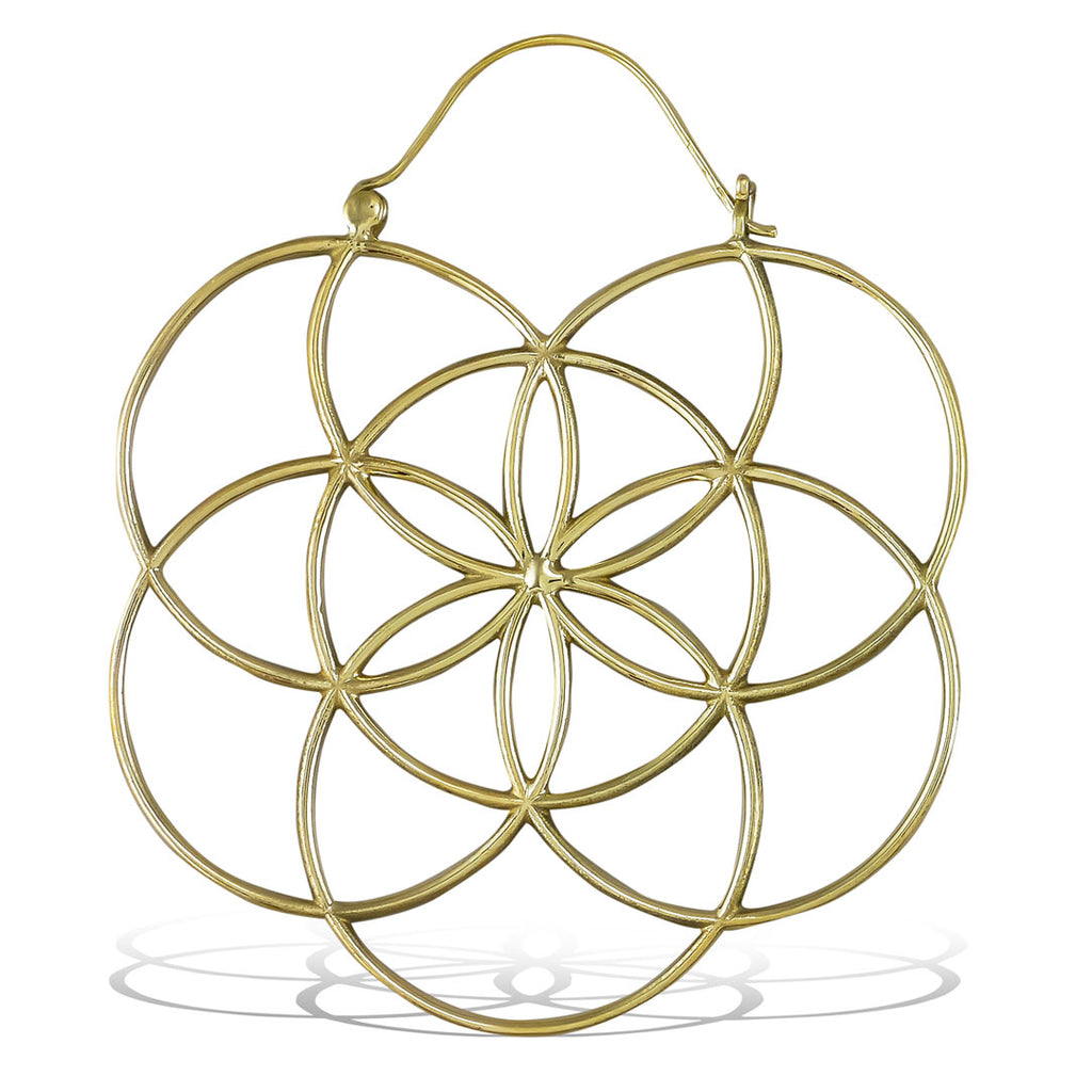 <span>BRE-386<span>: </span></span>Flower of Life Hoops