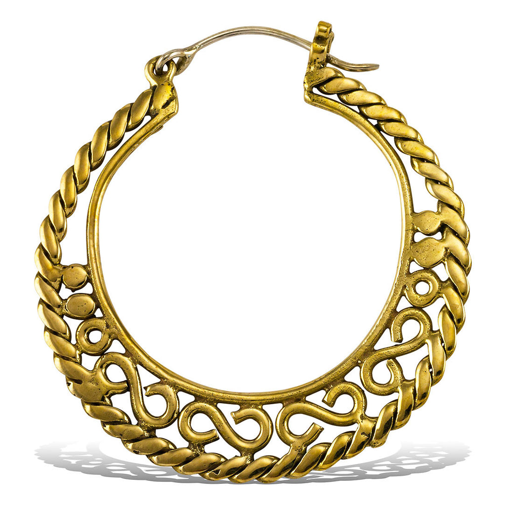 <span>BRES-041<span>: </span></span>Athena Hoops - Silver Post