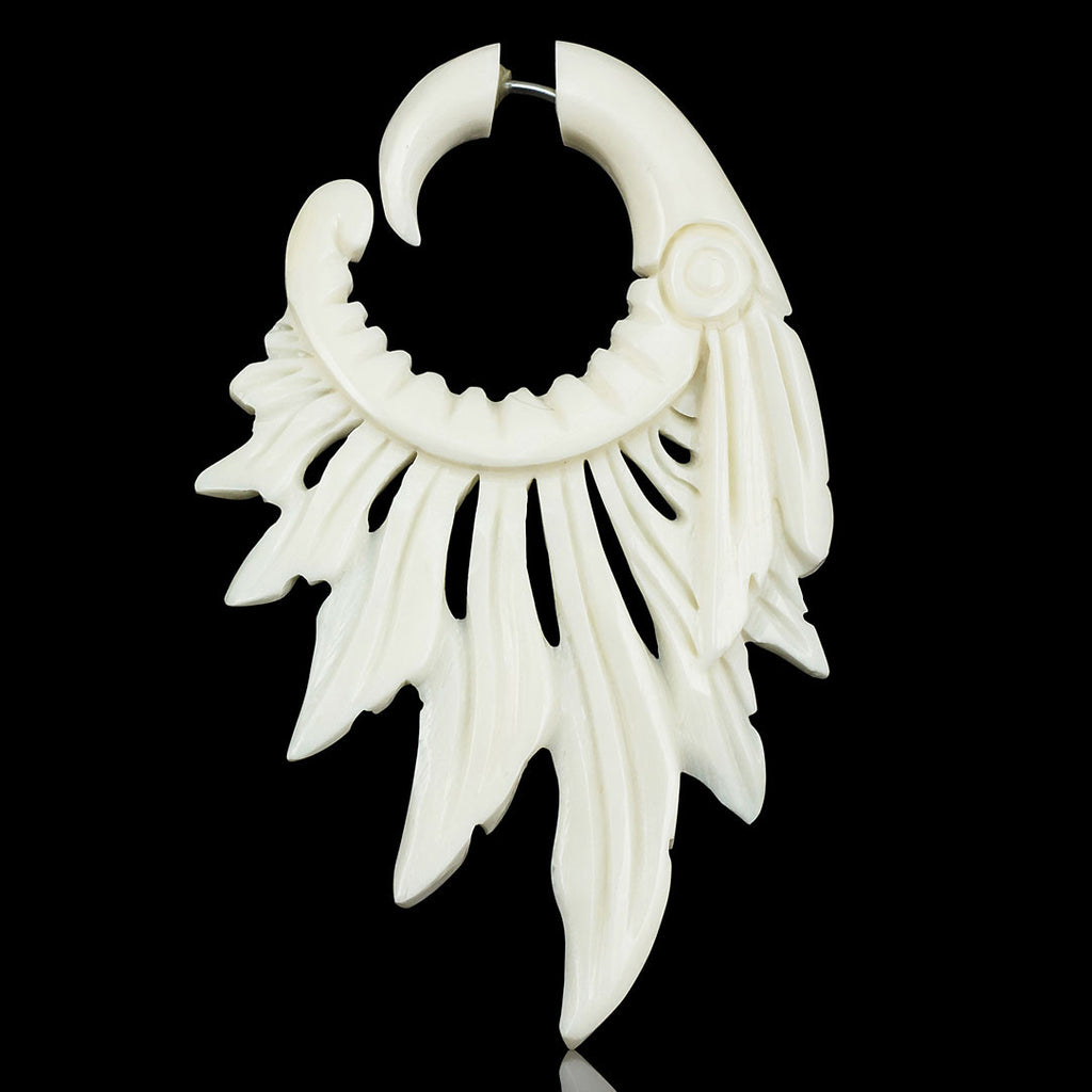 <span>EFB-866<span>: </span></span>Cherokee Feathers - Bone