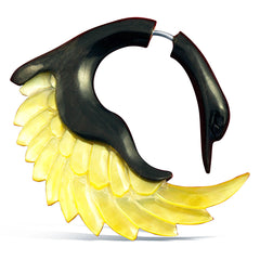 <span>EFHS-341<span>: </span></span>Sankofa Swans - Horn with Shell