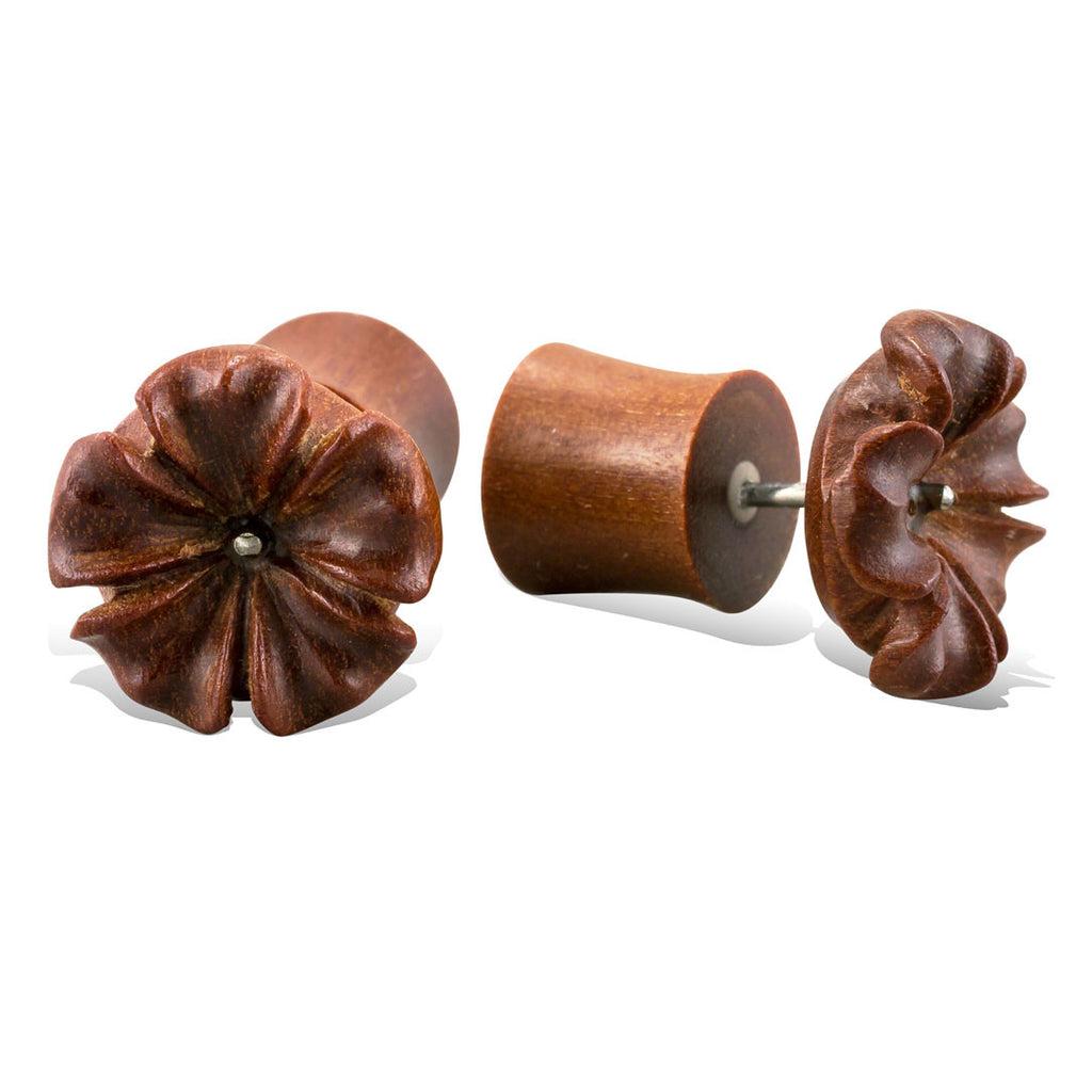<span>EFPW-322<span>: </span></span>Hibiscus Flower - Wood