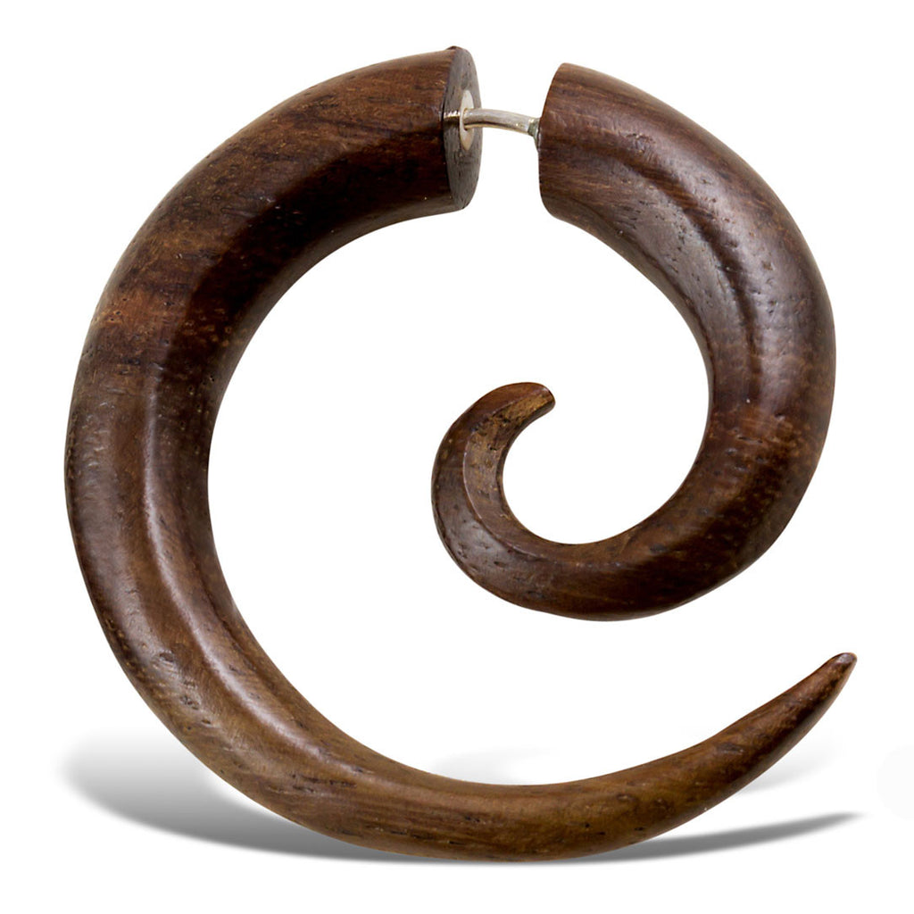 <span>EFW-001<span>: </span></span>Spirals - Brown Sono Wood