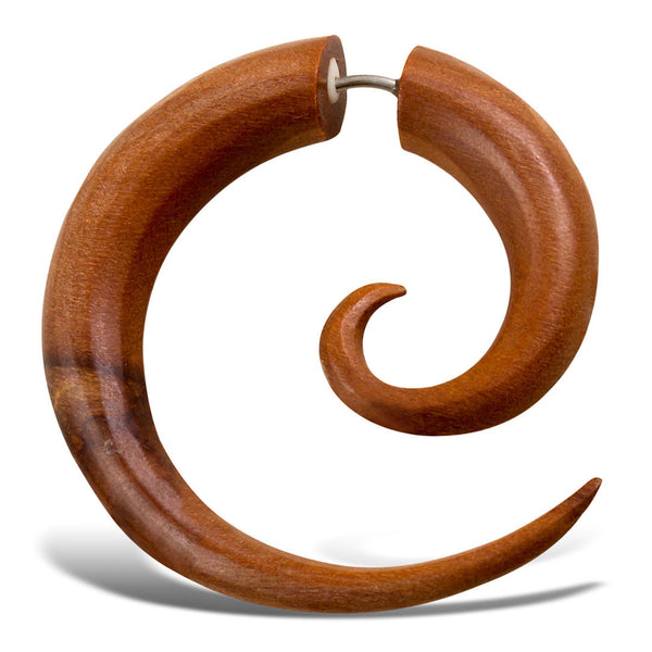 <span>EFW-001<span>: </span></span>Spirals - Tan Sabo Wood
