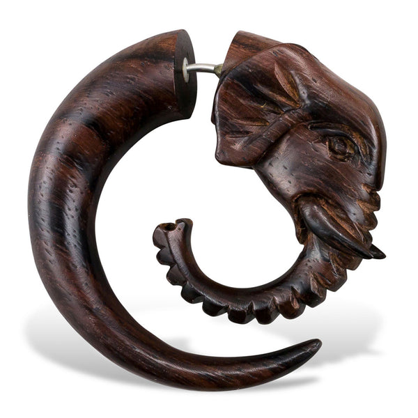 <span>EFW-005<span>: </span></span>Elephant Spirals - Wood