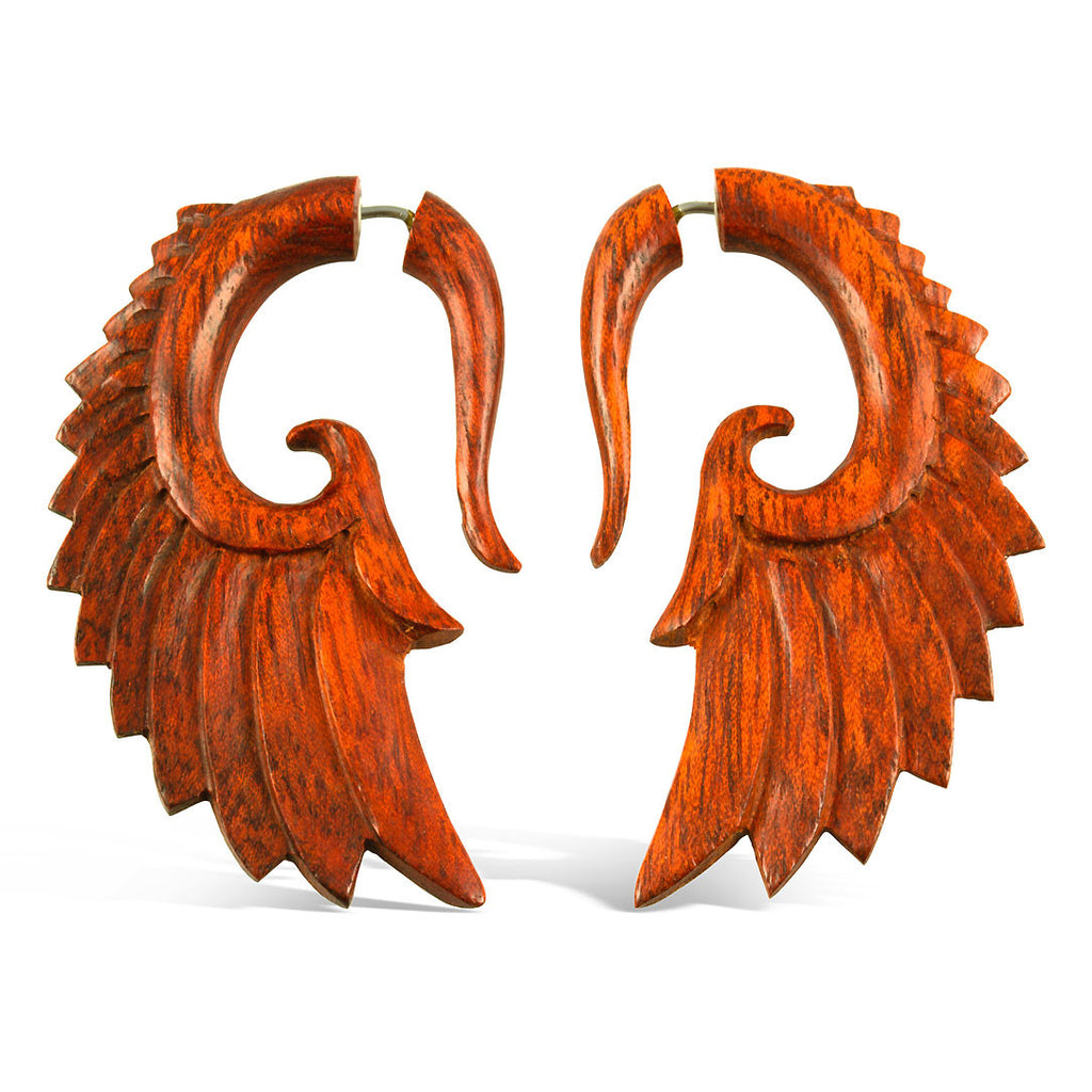 <span>EFW-840<span>: </span></span>Nava Wings Red - Wood