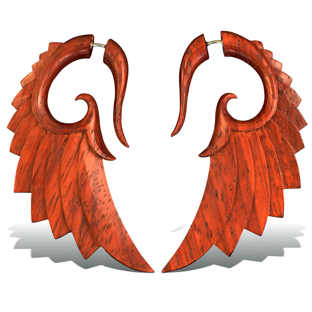 <span>EFW-884<span>: </span></span>Aza Wings Red - Wood