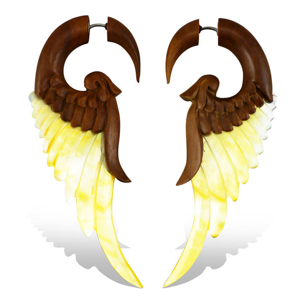 <span>EFWS-827<span>: </span></span>Forest Wings - Wood with Shell