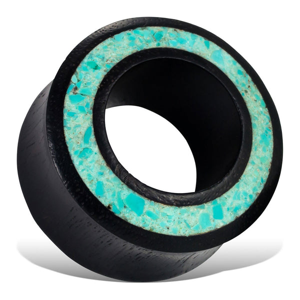 Turquoise Rim Tunnels - Wood