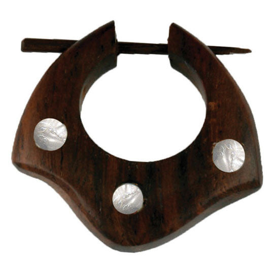 <span>ERW-167<span>: </span></span>Triple Shell Hoops - Wood