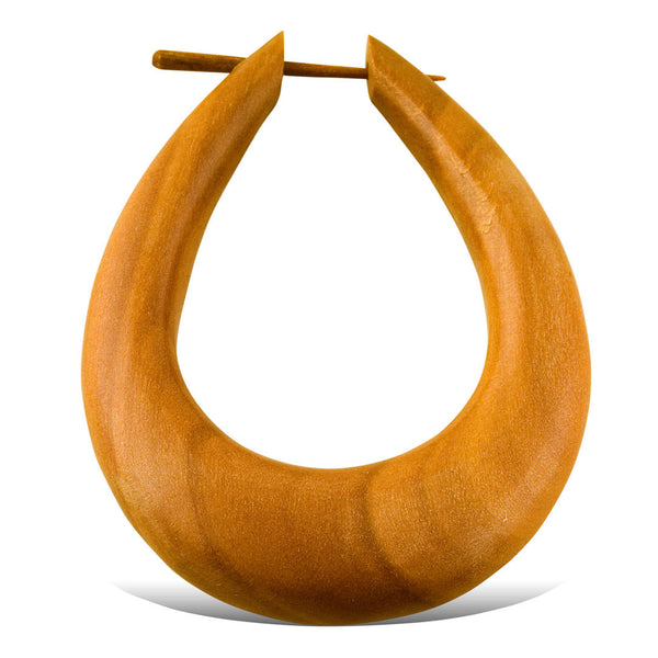 <span>ERW-221<span>: </span></span>Luna Hoops - Wood