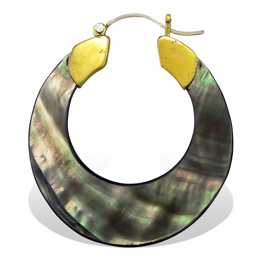 <span>ESS-188<span>: </span></span>Belladonna Hoops - Black Shell
