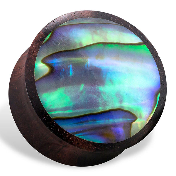 Abalone Plugs - Wood