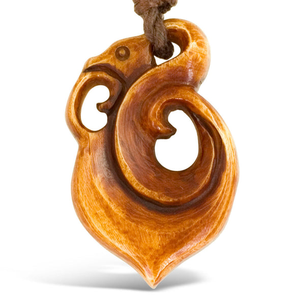<span>PB-159<span>: </span></span>Gaia Pendant - Stained Bone