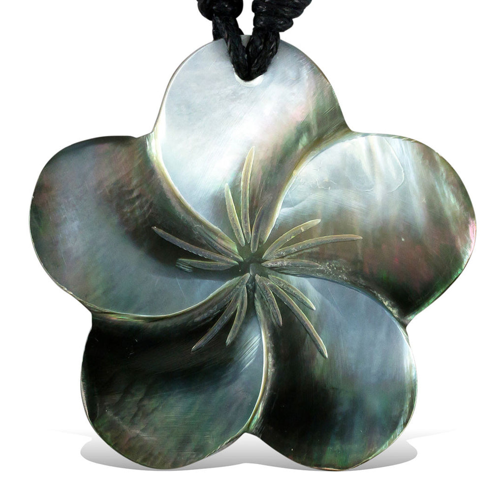 Shell Flower Pendant