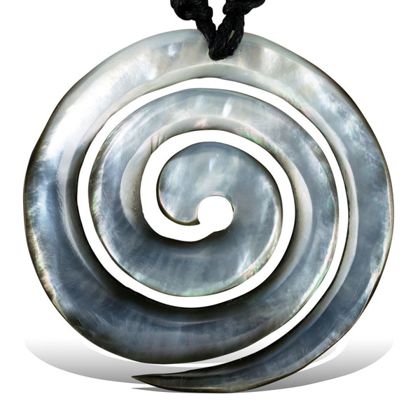 Ocean Wave Shell Pendant