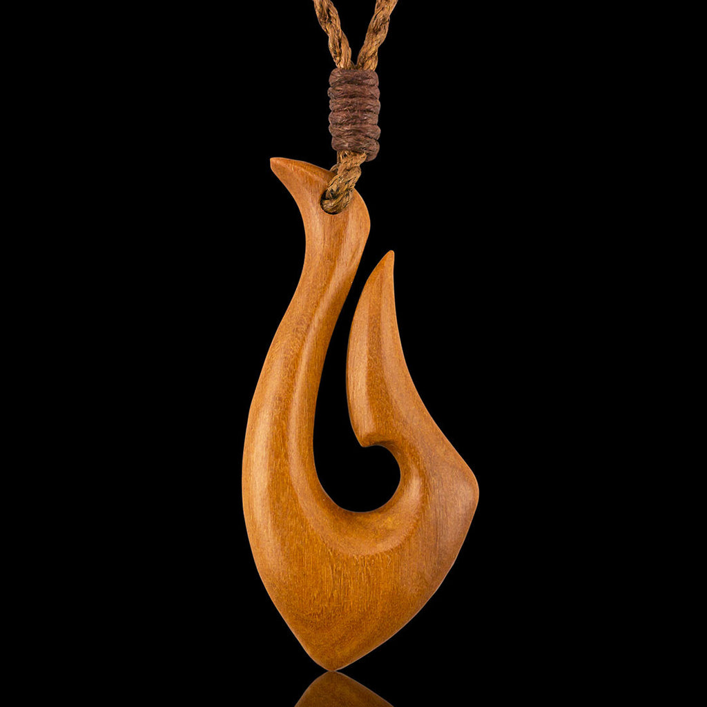 <span>PW-056<span>: </span></span>Kira Fishhook - Tan Sabo Wood