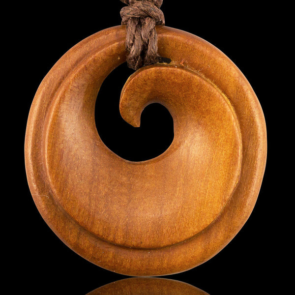 <span>PW-179<span>: </span></span>Inner Koru - Tan Sabo Wood