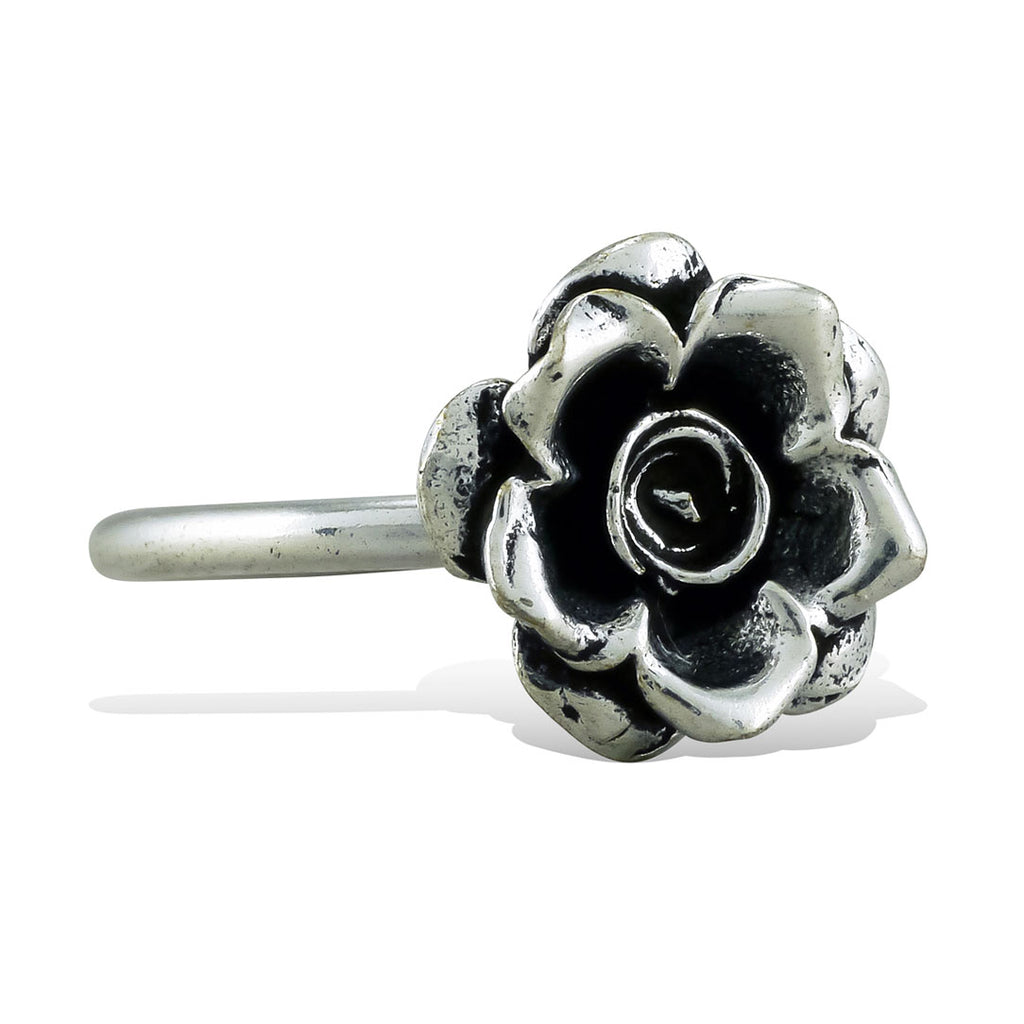 <span>RAS-030<span>: </span></span>Krissy's Rose - Silver Ring