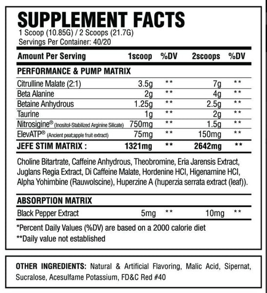 ASC Supplements El Jefe - What-Supplement