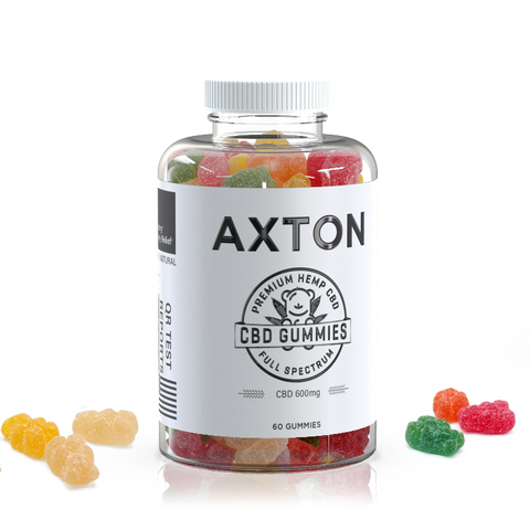 Axton CBD Gummies 600mg
