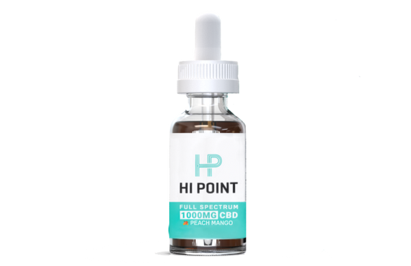 Hi Point Labs CBD Tincture 1000 mg - What-Supplement