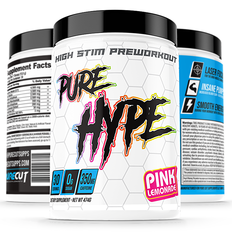 Pure Cut Supplements Pure Hype Pre-Workout - What-Supplement