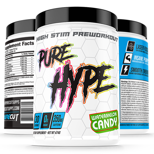 Pure Cut Supplements Pure Hype Pre-Workout