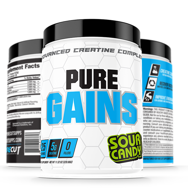 Pure Cut Supplements Pure Gains - What-Supplement