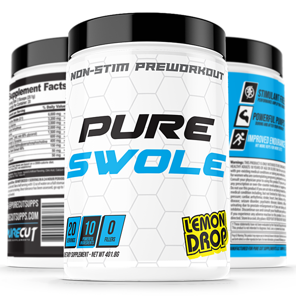 Pure Cut Pure Swole Pre-Workout - What-Supplement