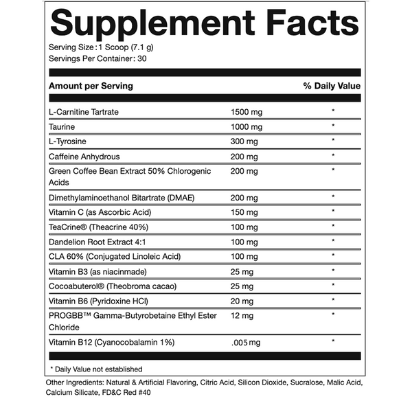 Pure Cut Pure Shred Pre-Workout - What-Supplement