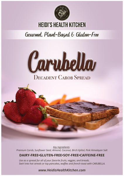 CARUBELLA™ Decadent Carob Spread, 9 oz Jar