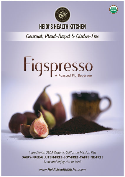 FIGSPRESSO™, Organic Gourmet Roasted Figs Beverage