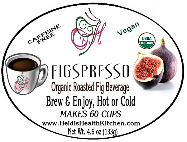FIGSPRESSO™, Organic Gourmet Roasted Fig Beverage