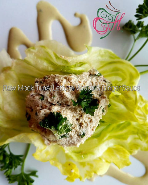 Raw Vegan Mock Tuna