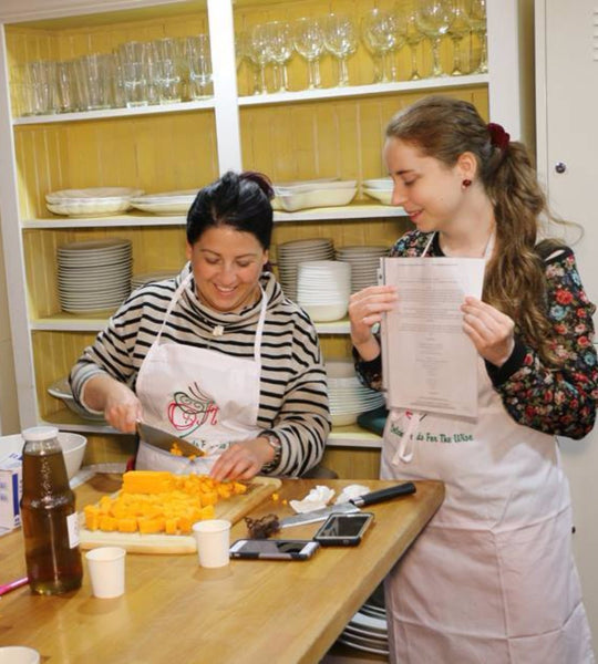 COOK With US! Holiday Delights Cooking Program