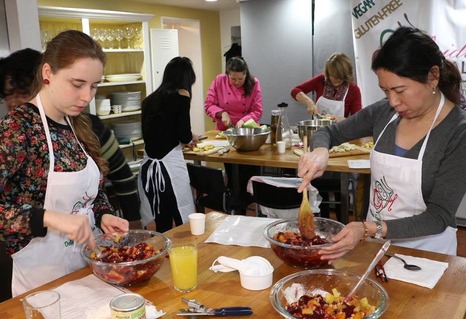 Cook With US!  December 17th, Holiday Delights - Seats Are Limited to 15 Attendees