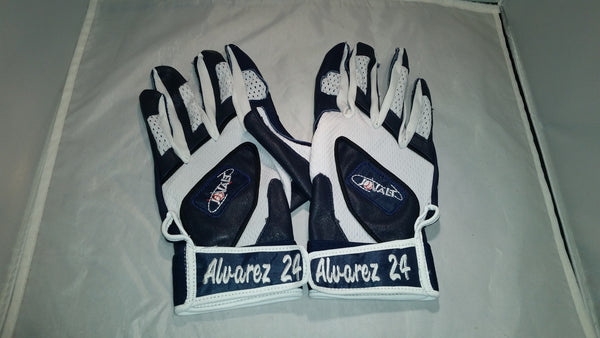 Batting Gloves with Name and Number