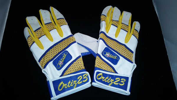 Batting Gloves with Name or Number