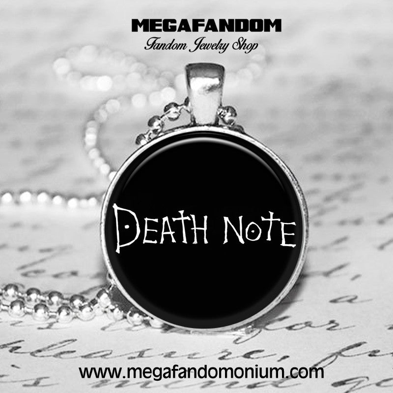 Death Note Necklace Death Note Jewelry Anime Jewelry