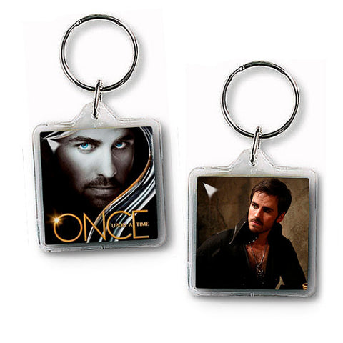 Captain Hook Keychain Once upon a time key ring Fandom Accessories - Megafandom