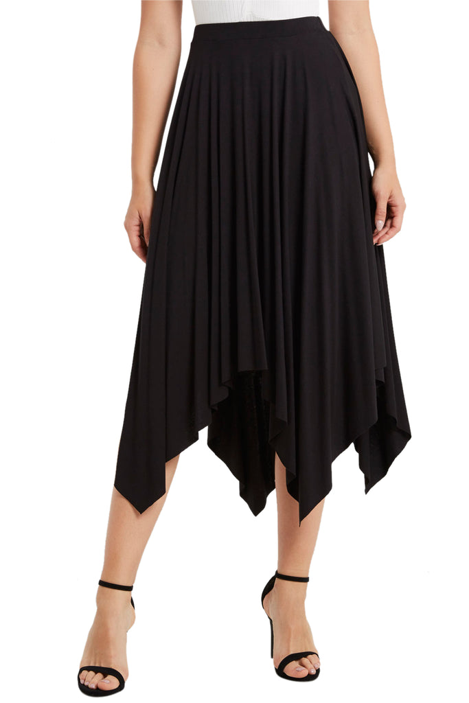 Midi Handkerchief Skirt