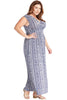 Surplice Maxi Dress Plus Size