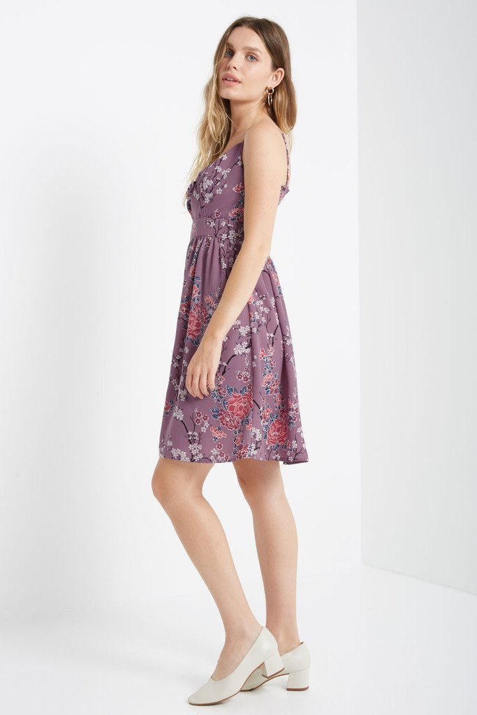 Poshsquare Dress Addy Fit and Flare Swing Dress