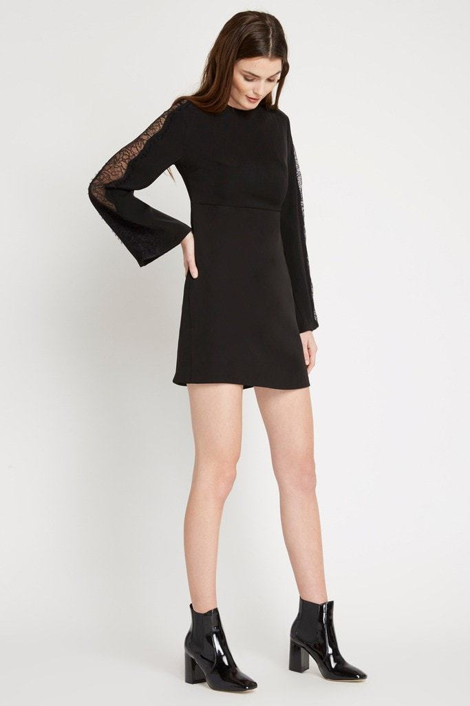 Poshsquare Dress Black Kira Shift Dress