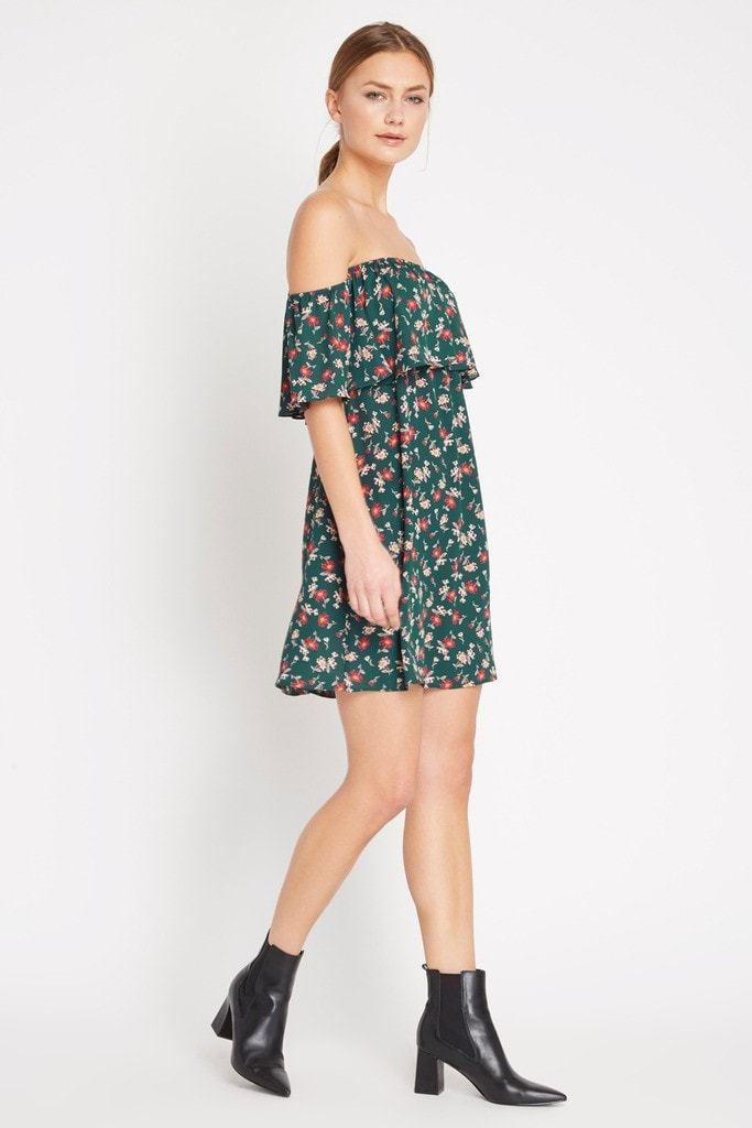 Poshsquare Dress Elodi Off the Shoulder Swing Dress
