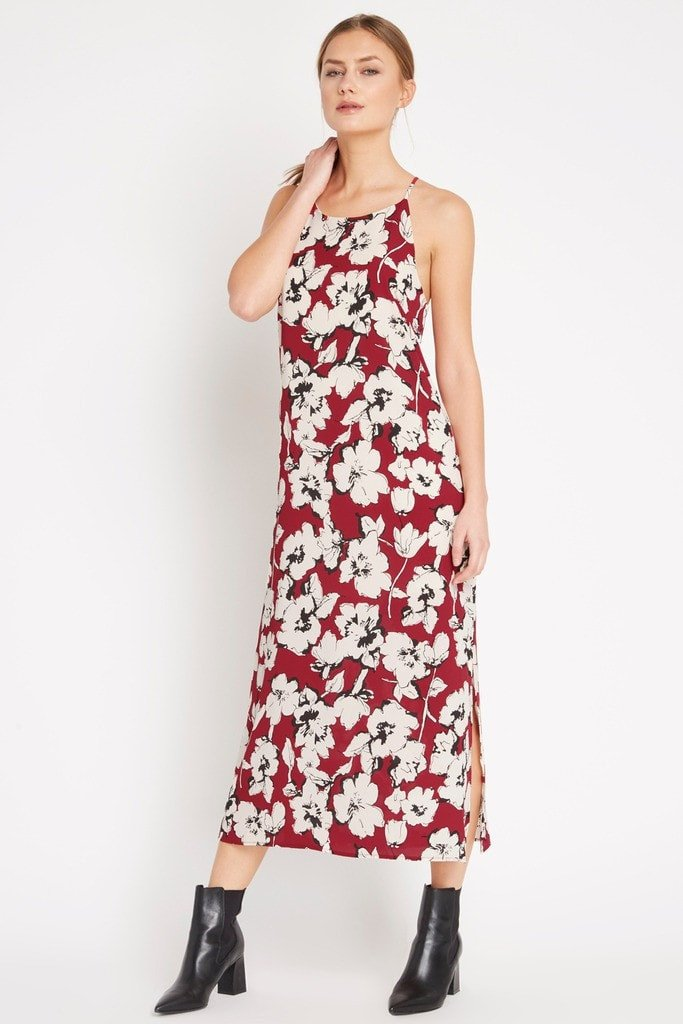 Poshsquare Dress Gia Floral Maxi Dress